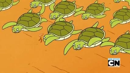 Regular Show - Парк Шоу - Сезон 6 Епизод 15 - I See Turtles