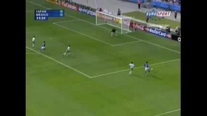 Япония - Мексико 1:0