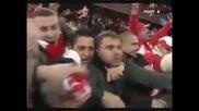 Вратар полудява след като вкарва гол в 95 - та минута и праща Стандард в Лига Европа!
