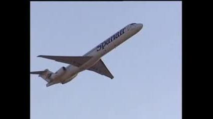 Испански самолет се разби в Мадрид