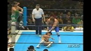 Fit Finlay & Pegasus Kid ( Крис Беноа ) vs. Negro Casas & Eddie Guerrero - New Japan 30.04.1992