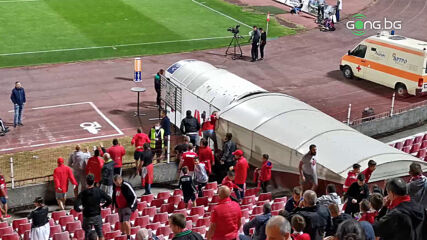 Напрежение край тунела, фенове на ЦСКА с претенции към Кабаков