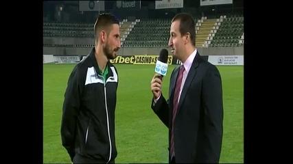 Златински: Играем за победа, било то срещу Левски или Реал Мадрид