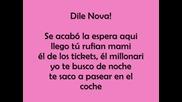 Nova Y Jory Ft Daddy Yankee - Aprovecha + т е к с т