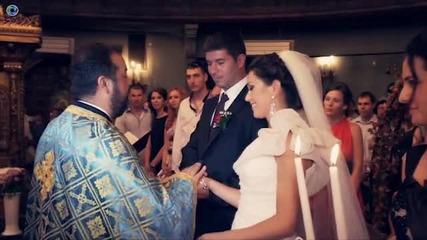 Сватбата на Павлин и Ина - видеозаснемане студио