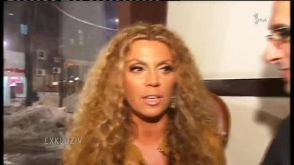 Indira Radic i Gaston Berak - Intervju - Exkluziv - (TV Prva 2012)