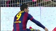 Меси измъкна Барселона от трудна ситуация! 01.02.2015 Барселона - Виляреал 3:2