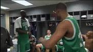 Nba Fight_ Garnett, Allen, and Pierce fight in the locker ro