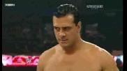 Wwe Raw 05.12.11 Алберто дел рио Ще се бие за титлата на Wwe