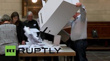 Denmark: Last ballots cast in Copenhagen as bell sounds to end voting