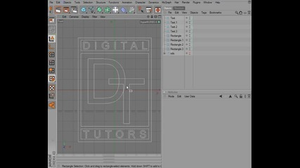 29. Creating a beveled logo from splines