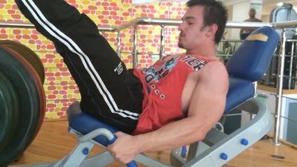 Тренировка за крака с Коко
