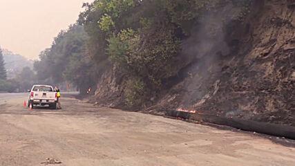 USA: Glass Fire razes wineries in Calistoga