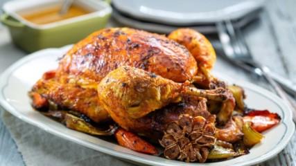 Бон Апети | Печено пиле с грейви сос