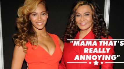 Beyoncé getting annoyed at her mom cutting her hair is so relatable