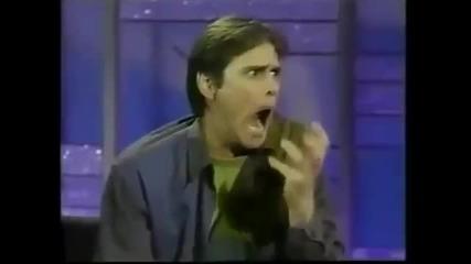 Джим Кери Говори за Дет Метъла и Откача в ефир