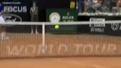 Невероятно отиграване на Федерер