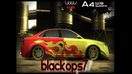 [need For Speed Most Wanted] Blackops7 Present Tuning Cars