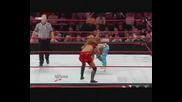 Mickie James Vs Rosa Mendes with Maryse