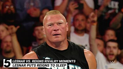 Unforgettable Brock Lesnar vs. Roman Reigns rivalry moments: WWE Top 10, Sept. 19, 2021