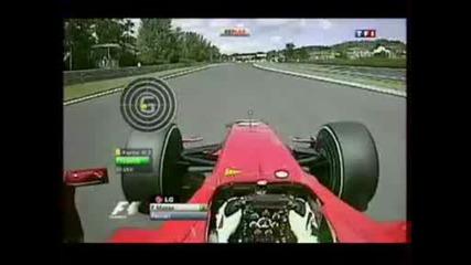 F1 Унгария - Инцидента с Фелипе Маса