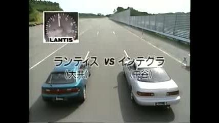 mazda 323f test drive Japan