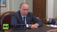 Russia: Putin discusses restructuring of Crimea governance with Medvedev