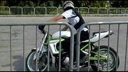 Fair Moto Show 2011 Загрявка на стънт състезатели