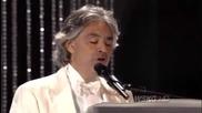Коледа : Andrea Bocelli & David Foster - Tu Scendi Dalle Stelle