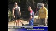 Колеги на бившия полицай - Лисичков го подкрепят.