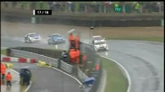 2010 Btcc - Race 2 at Brands Hatch - Part 4 of 5 (restart - Finish)