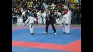 Taekwon-do itf final sparring - 36kg