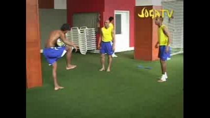 Ronaldinho, Robinho & R. Carlos
