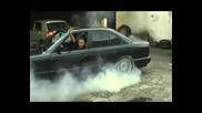 Bmw M5 си пали гумите