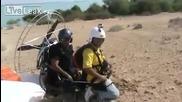 Летателни опити на саудитски парашутист
