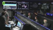 NASA Staff Celebrate as Juno Successfully Enters Jupiter's Orbit