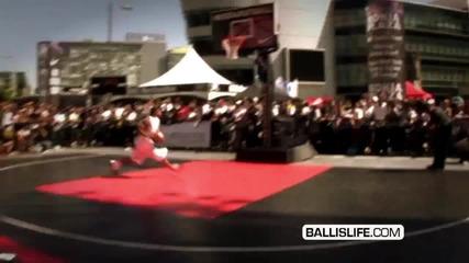 T - Dub crazy dunks @ Nike La dunk contest