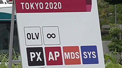 Japan: Views of Olympic Village amid record COVID surge