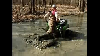 трябва да се види офроуд в кал с бъги