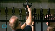 Secret Service Plans to Adorn White House Fence With Spiked Points