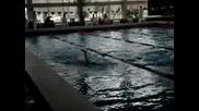 Плуване - 100 Гръб