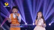 Феноменално изпълнение на момиче и момченце в Тв предаване