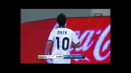 Валенсия - Алмерия 2:0