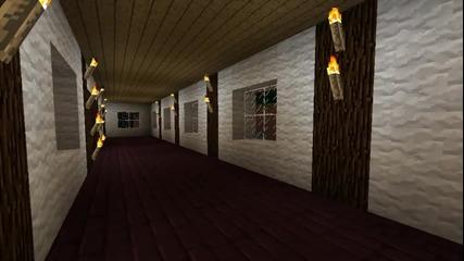 Minecraft нашата постройка в хардкрафт!