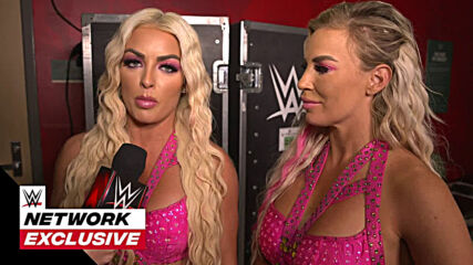 Mandy Rose & Dana Brooke happy to put Nia Jax & Shayna Baszler in their place: WWE Network Exclusive, April 12, 2021