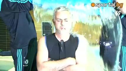 Жозе Моуриниьо стана поредната жертва на Ледената кофа