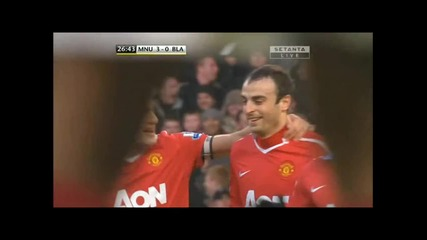 27.11.10 - Manchester United 7:1 Blackburn - Berba Gool!!!