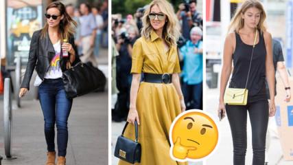 Начинът, по който носите чантата си, казва всичко за вас! Вижте!