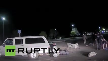 Полицейска камера записва смъртоносен арест в Аризона