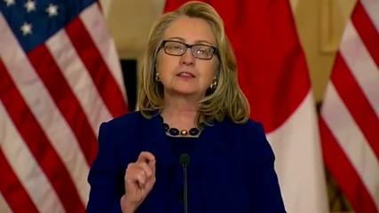 Барак Обама и Хилъри Клинтън пеят Timber на Питбул